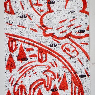 Millo - Screen print + Handmade