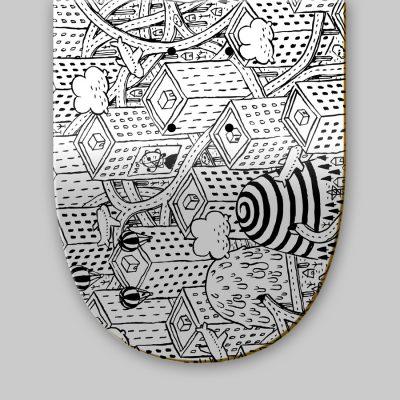 Dettagli 1 Skateboard - Millo - Street completely drain you