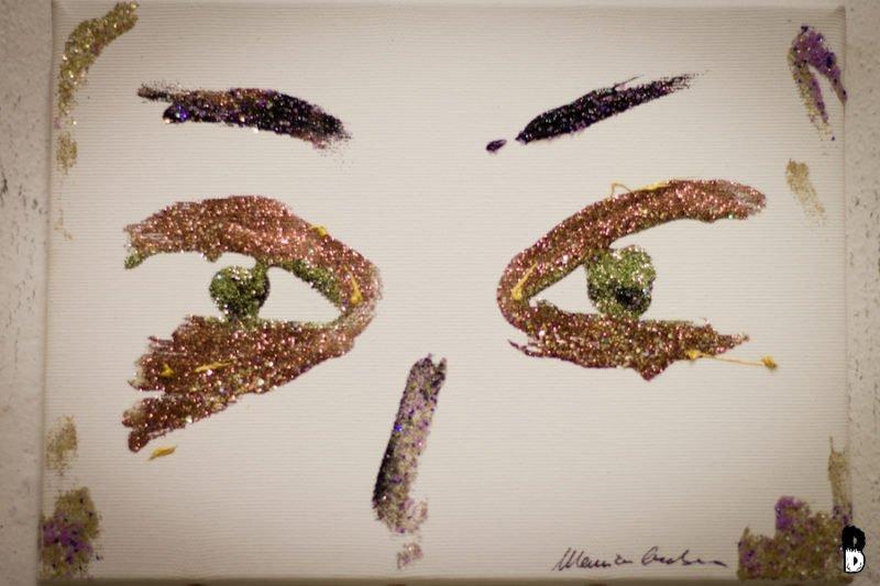 Glittermania una mostra di Monica Cardascia