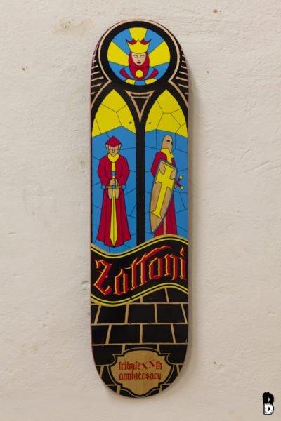 Skateboard - Giorgio Zattoni XX Anniversary Tribute - Albertini