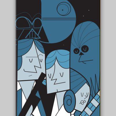 Dettagli 2 - Ale Giorgini Star Wars Skateboards