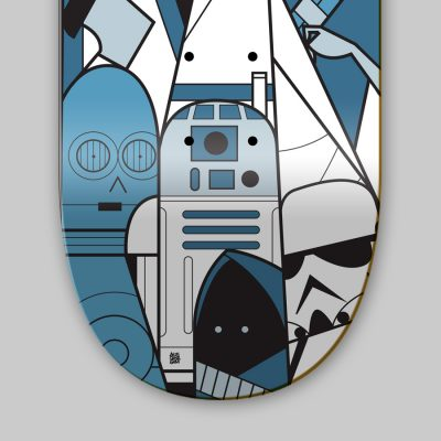Ale Giorgini Star Wars Skateboards