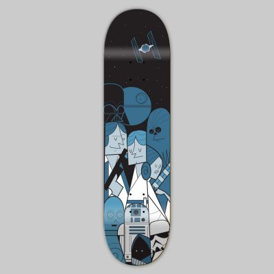 Skateboard - Ale Giorgini - Star Wars
