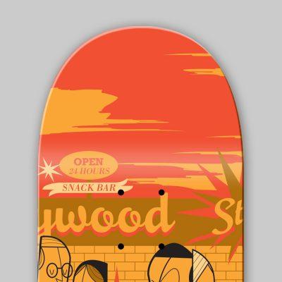 Dettagli 3 Ale Giorgini - The Big Lebowski Skateboard