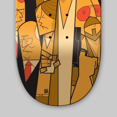 Dettagli Ale Giorgini - The Big Lebowski Skateboard