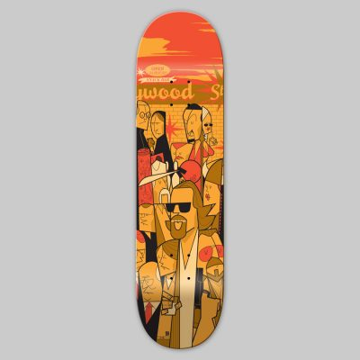 Skateboard - Ale Giorgini - The Big Lebowski