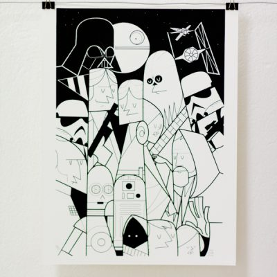 Ale Giorgini - Star Wars - Screen print