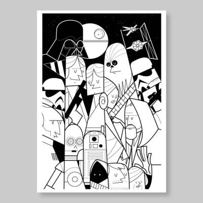 Ale Giorgini – Star Wars – Screen print