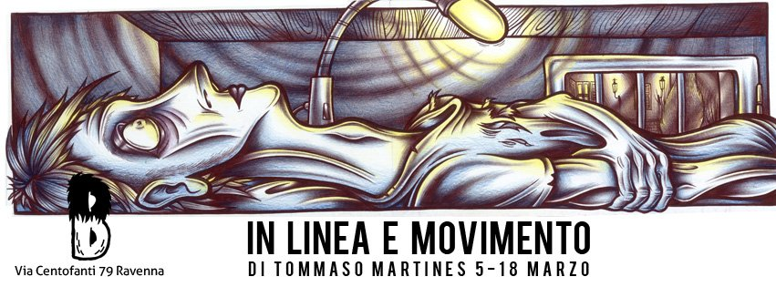 In linea e movimento