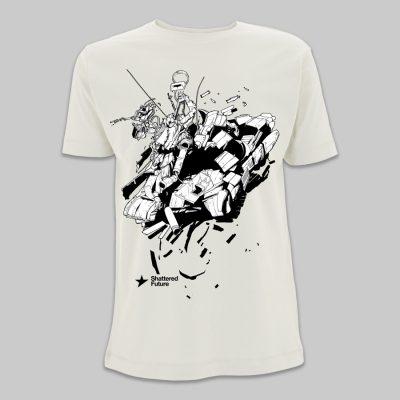 LRNZ - Tank - Tshirt bianca