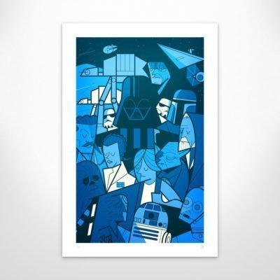 Ale Giorgini – Empire – Giclée print