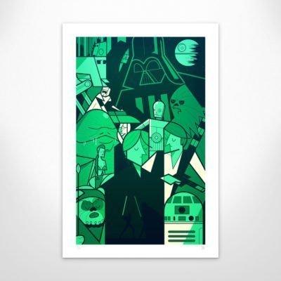 Ale Giorgini – Jedi – Giclée print