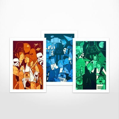Ale Giorgini – Trilogy – Giclée print