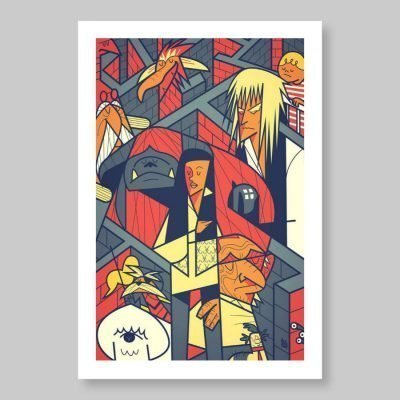Ale Giorgini – Labyrinth – print