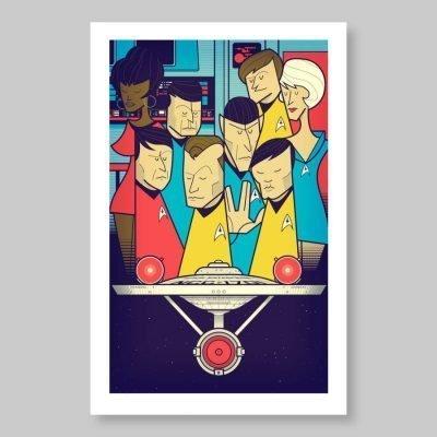 Ale Giorgini – Last Frontier – print
