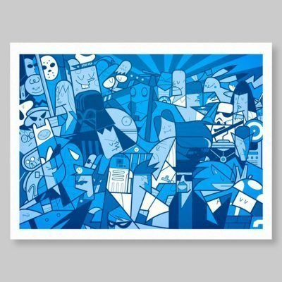 Ale Giorgini – Meltin Pop – print