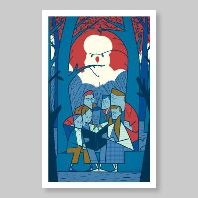 Ale Giorgini – We all float down here – print