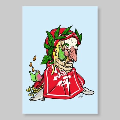 Cibo Dante poster